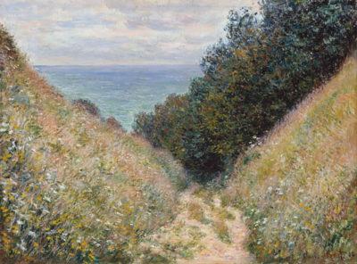 Claude Monet Road at La Cavee
