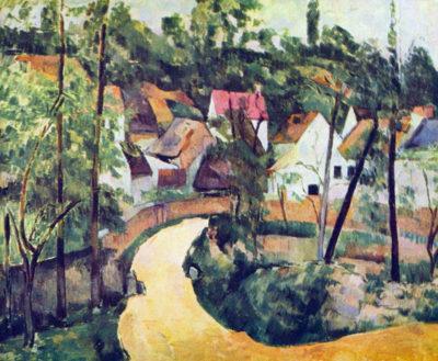 Paul Cézanne Road bend