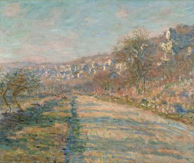 Claude Monet Road of La Roche-Guyon