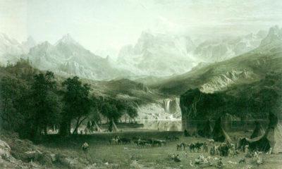Albert Bierstadt Rockies at Lander's Peak