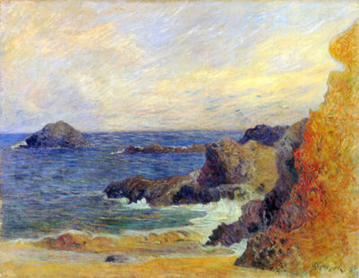 Paul Gauguin Rocky Coast