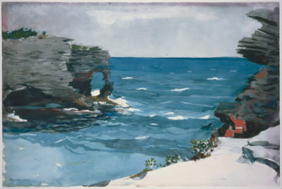 Winslow Homer Rocky Shore