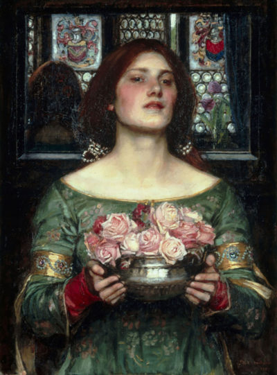 John William Waterhouse Rosebuds