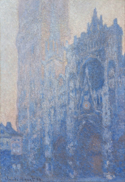 Claude Monet Rouen Cathedral Facade