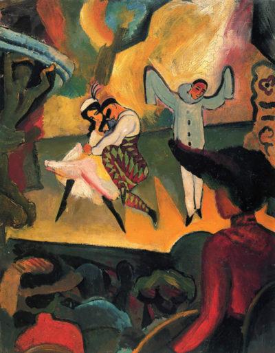 August Macke Russian ballet