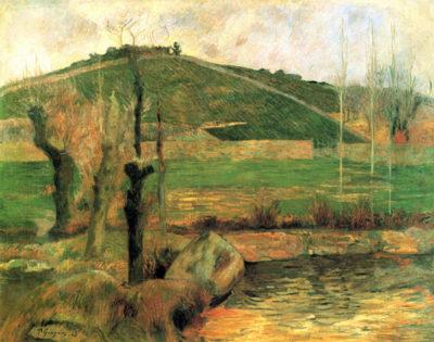 Paul Gauguin Sainte Margueritte near Pont-Avon
