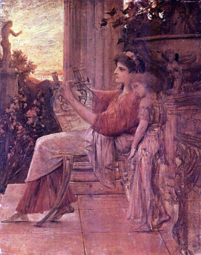 Gustav Klimt Sapho