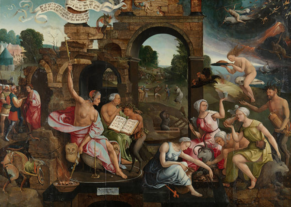 Jacob Cornelisz van Oostsanen Saul and the Witch of Endor