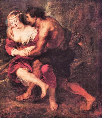 Peter Paul Rubens Schafer scene