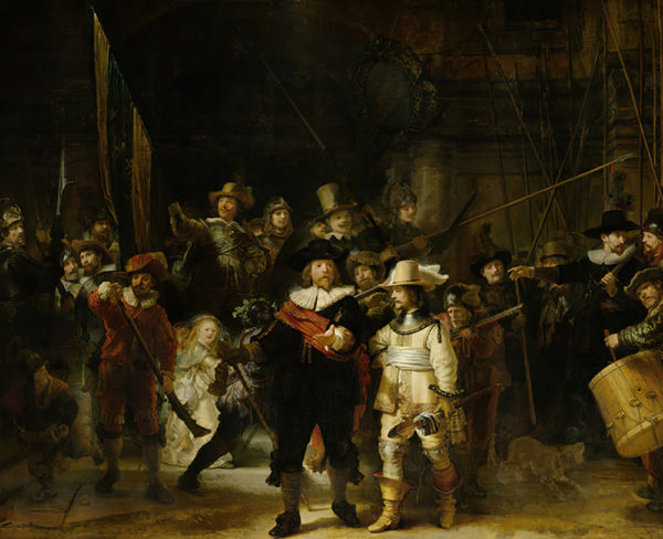 Rembrandt Harmensz. van Rijn Militia Company of District II under the Command of Captain Frans Banninck Cocq