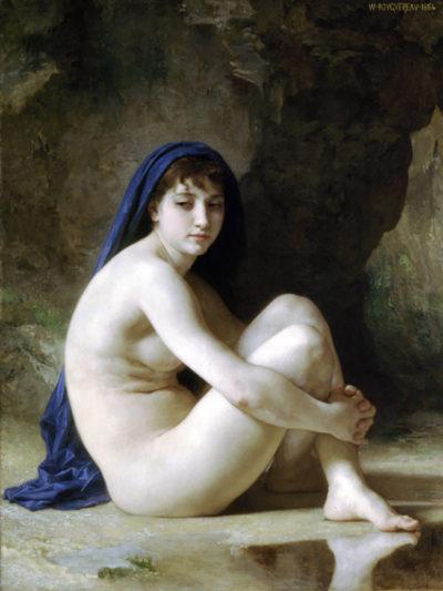 William-Adolphe Bouguereau Seated Nude