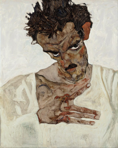 Egon Schiele Self-Portrait