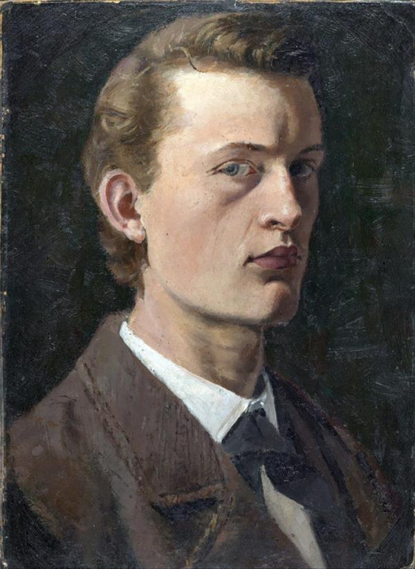 Edvard Munch Self-Portrait