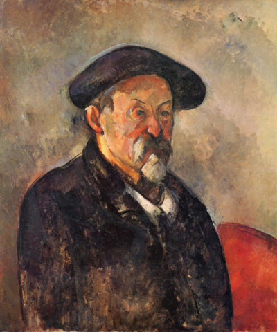 Paul Cézanne Self Portrait with Beret