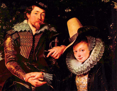 Peter Paul Rubens Self-portrait of the artist and his wife