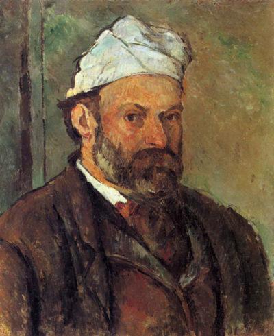 Paul Cézanne Self-portrait with a white turban