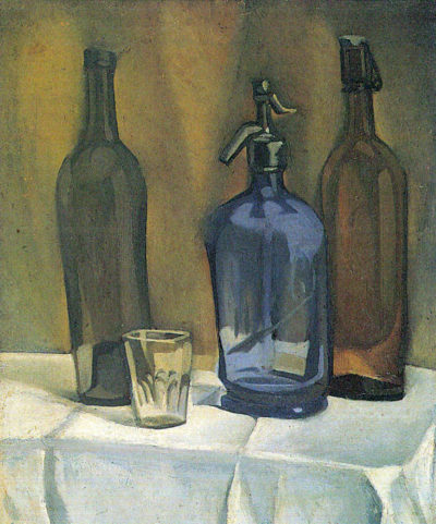 Juan Gris Siphon and bottles
