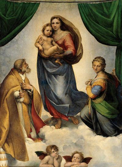 Rafaël Sistine Madonna