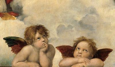 Rafaël Sistine Madonna (Angels)