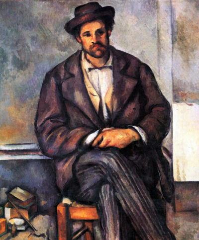 Paul Cézanne Sitting Farmer