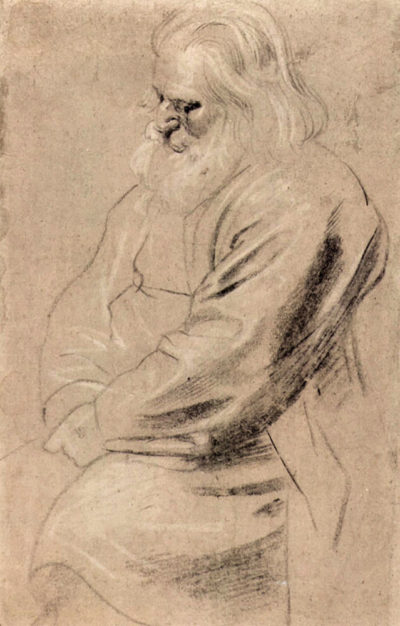 Peter Paul Rubens Sitting Greis