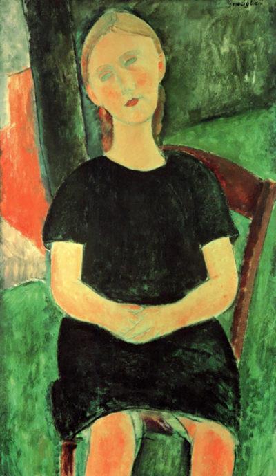 Amedeo Clemente Modigliani Sitting girl