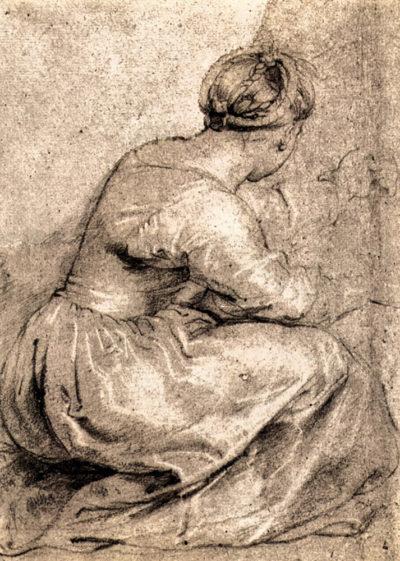 Peter Paul Rubens Sitting girl