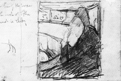 Mary Cassatt Sketch (in the opera)