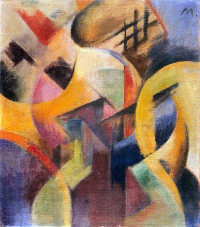 Franz Marc Small composition I