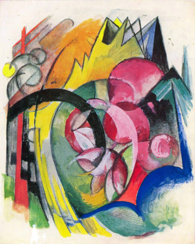 Franz Marc Small composition II