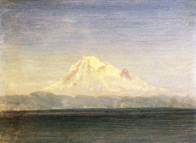 Albert Bierstadt Snowy Mountains in the Pacific Northwest