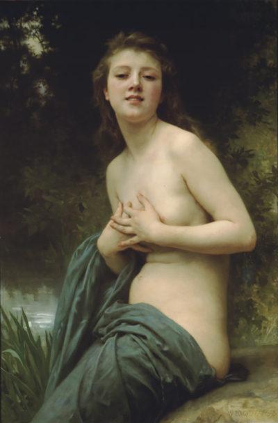 William-Adolphe Bouguereau Spring Breeze