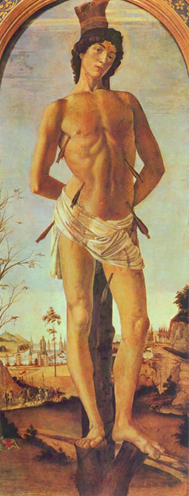 Sandro Botticelli St. Sebastian
