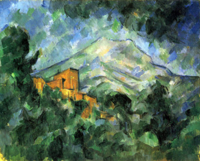 Paul Cézanne St. Victoire and Chateau Noir