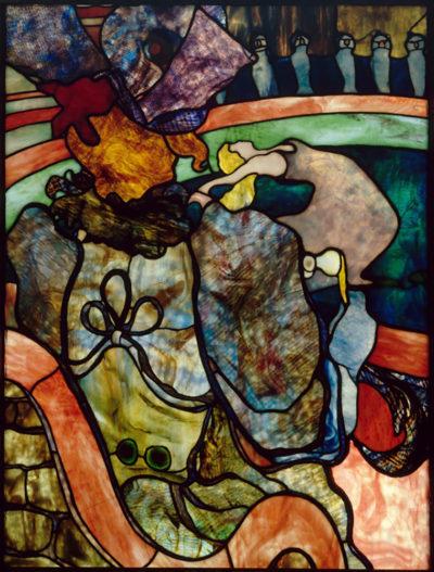 Henri de Toulouse-Lautrec Stained glass