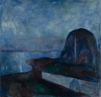 Edvard Munch Starry Night