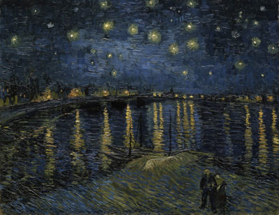 Vincent van Gogh Starry Night over the Rhone
