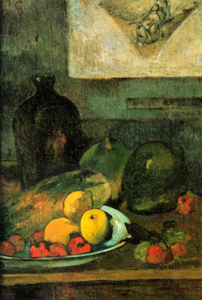 Paul Gauguin Still Life in Front of a Stitch