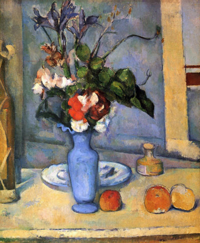 Paul Cézanne Still Life with Blue vase