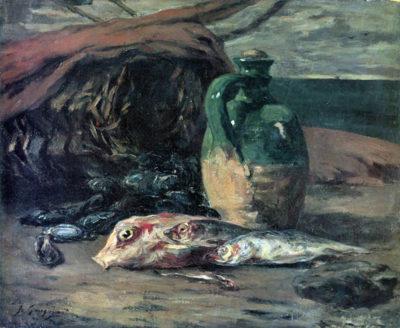 Paul Gauguin Still Life with Fish