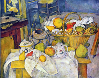 Paul Cézanne Still Life with Fruit Basket