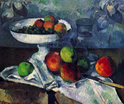 Paul Cézanne Still Life with Fruit Bowl