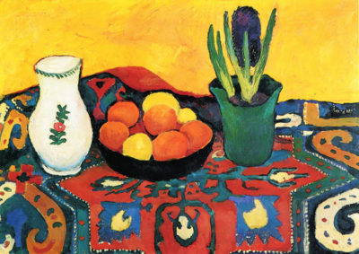 August Macke Still Life with Hyacinth