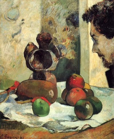 Paul Gauguin Still Life with Profile of Charles Lavall