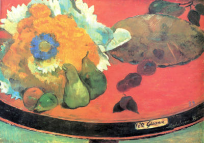 Paul Gauguin Still Life with fete