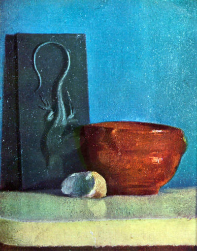 Edgar Degas Still Life with lizard