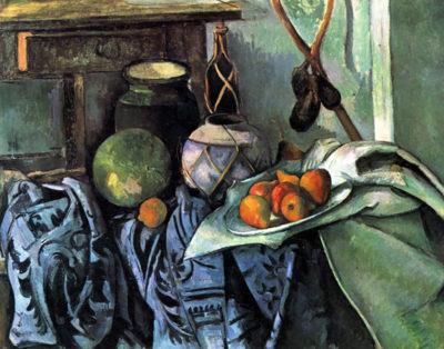 Paul Cézanne Still life with Eggplant