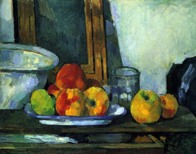 Paul Cézanne Still-life with an open drawer