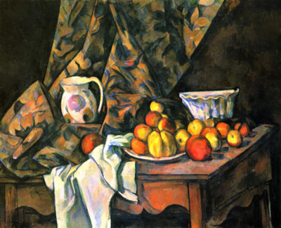 Paul Cézanne Still life with apples and peaches