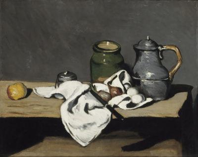 Paul Cézanne Still life with kettle